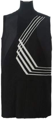 Rick Owens embroidered sleeveless knit top