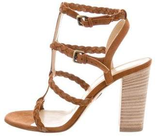 Ritch Erani NYFC Suede T-Strap Sandals w/ Tags