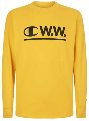Champion x Wood Wood Henry Long-Sleeve T-Shirt