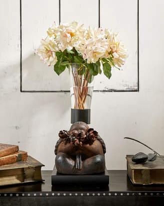 Jan Barboglio Coquetita Sculpture with Glass Vase