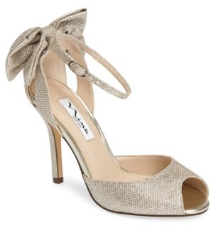 Women's Nina Martina Ankle Strap Pump $98.95 thestylecure.com