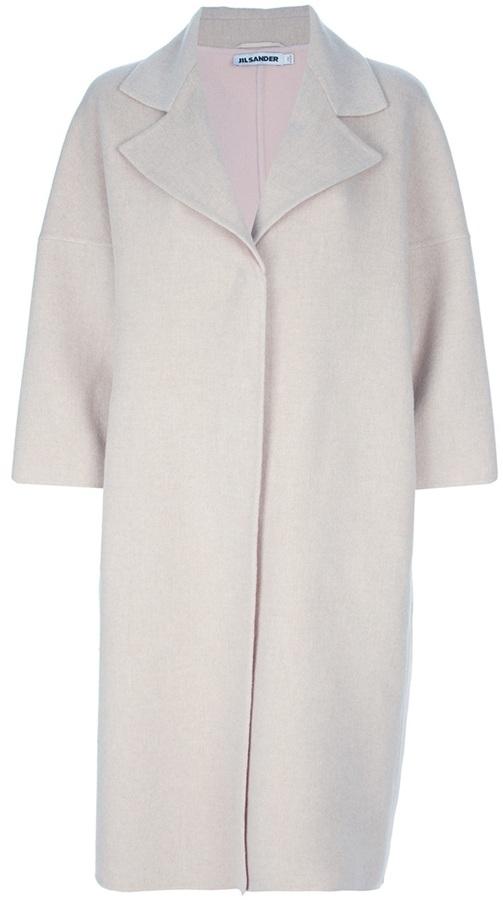 Jil Sander oversize coat