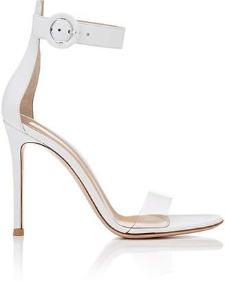 Gianvito Rossi Women's Stella Leather & PVC Sandals