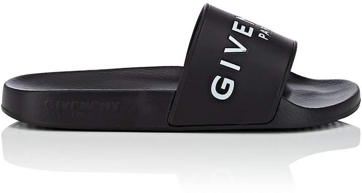 Givenchy Women's Logo Rubber Slide Sandals