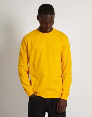 The Idle Man Classic Long Sleeve T-Shirt Yellow