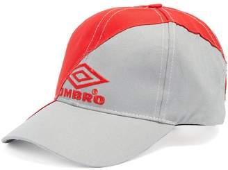 Vetements X Umbro logo-embroidered canvas cap