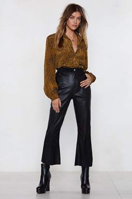 Nasty Gal Marry the Night Faux Leather Pants