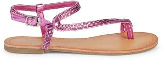 Kenneth Cole Reaction Embellished Toe-Ring Sandals