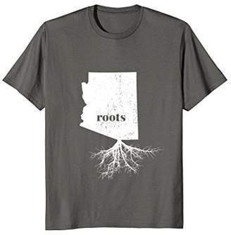Arizona Roots State Map Shirt Home Grown Love Pride Gift Tee