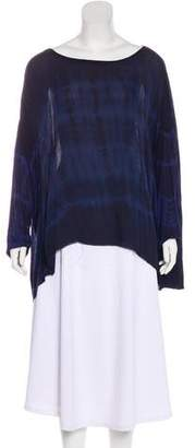 Raquel Allegra Long Sleeve Silk Tunic