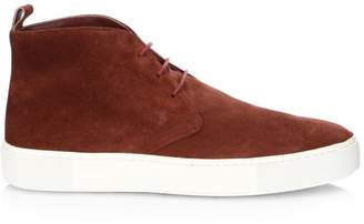 Tod's Lace-Up Suede Chukka Sneakers