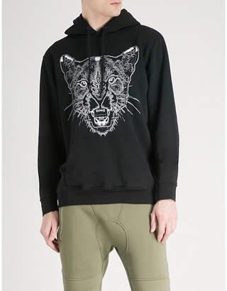 Marcelo Burlon County of Milan Puma-print cotton-jersey hoody