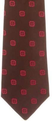 Kiton Patterned Silk Tie
