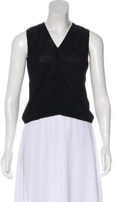 Armani Collezioni Sleeveless Crop Top