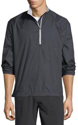 Peter Millar Packable Windbreaker Jacket, Blue $26 thestylecure.com