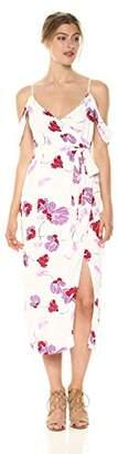 Bardot Women's Floral Wrap Dress