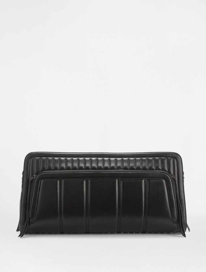 DKNY Oversized Nappa Clutch