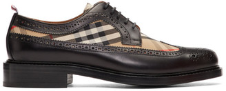 Burberry Black Andale KC Brogues