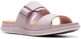 95de3364bd8b Clarks Women Cloudsteppers Step June Tide Slide Sandals Women Shoes