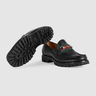 f6a54050dc9 Gucci Black Leather Shoes For Men - ShopStyle UK