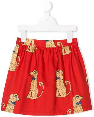 Mini Rodini Spaniels print skirt