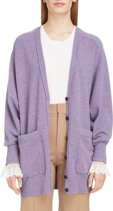 Chloé Iconic Cashmere Blend Cardigan