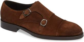 To Boot Koning Double Buckle Monk Shoe