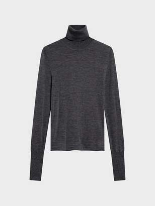 Donna Karan Donnakaran Merino Wool Turtleneck Pullover