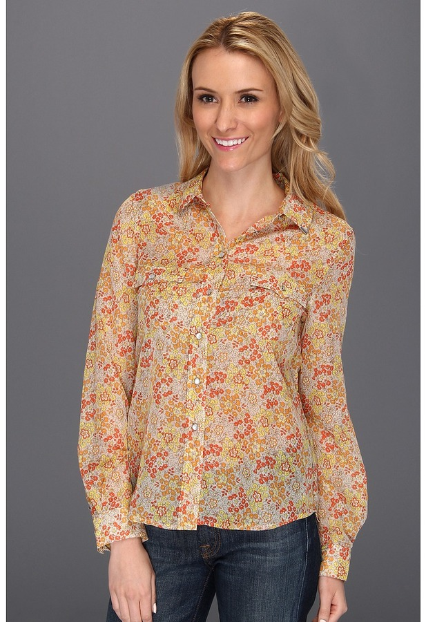 Vince Camuto TWO by Western Utility Shirt (Buff) - Apparel
