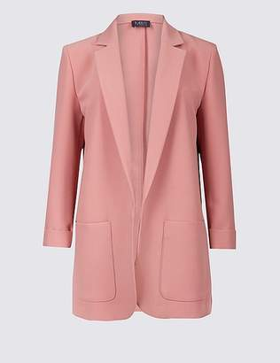 Marks and Spencer Single Breasted Patch Pocket Blazer
