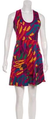 Marc by Marc Jacobs Splatter Print Mini Dress
