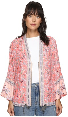 Free People - Wildflower Cinched Kimono Women's Sweater $128 thestylecure.com