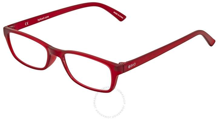 B+D Icon Reader Matt Red Eyeglasses