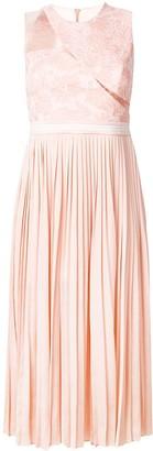 Three floor Starlight pleat and lace dress