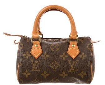 Louis Vuitton Mini Monogram Speedy HL