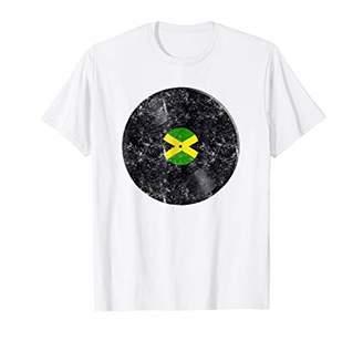 Jamaica Vinyl Record Shirt Jamaican Music Retro Gift T-Shirt