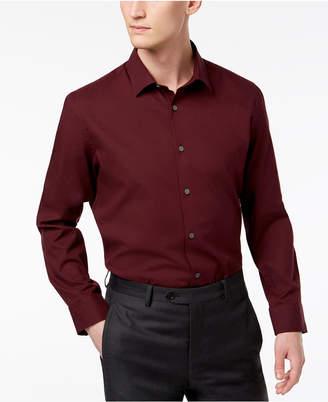 Alfani Men Stretch Modern Solid Shirt
