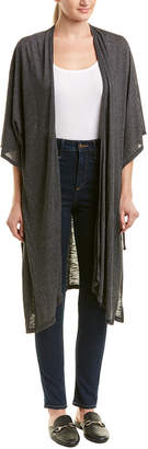 Michael Stars 3/4-Length Sleeve Cover Up Cardigan