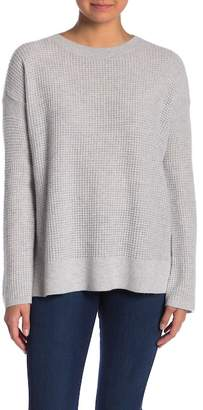 Theory Dropped Sleeve Cashmere Sweater