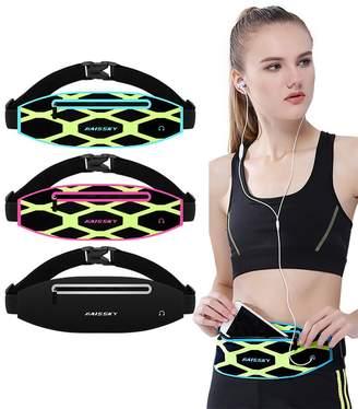 Samsung TSRHFGT Lycra Waist Bag For Men & Women Waterproof Fanny Pack Running Belt Fitness Travel for iPhone X 6 7 8 Plus