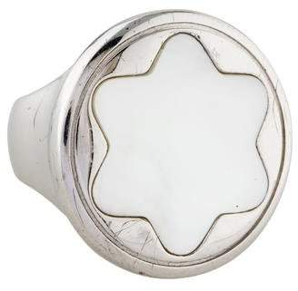 Montblanc Mother Of Pearl Homage to Femininity Cocktail Ring