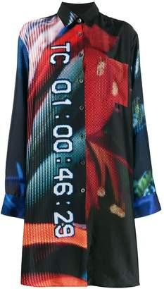 Études Mountain Colin Snapp printed shirt