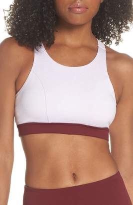 Zella Sheer Drama Sports Bra