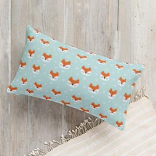 Little Fox Lumbar Pillow