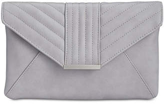 INC International Concepts I.n.c. Luci Quilted Envelope Clutch