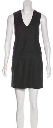 Vince Wool-Blend Sheath Dress