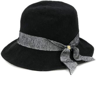 CA4LA tweed ribbon hat