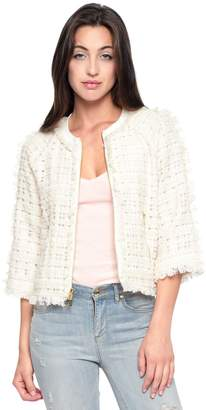 Juicy Couture Organza Tweed Jacket