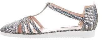 Sarah Jessica Parker Meteor Metallic Glitter Sandals