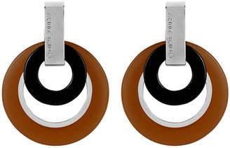 Henri Bendel Resin Multi Ring Drop Earring
